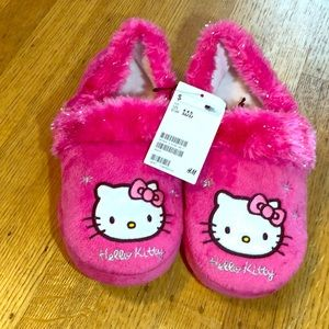 H&M Hello Kitty Soft Pink Slippers